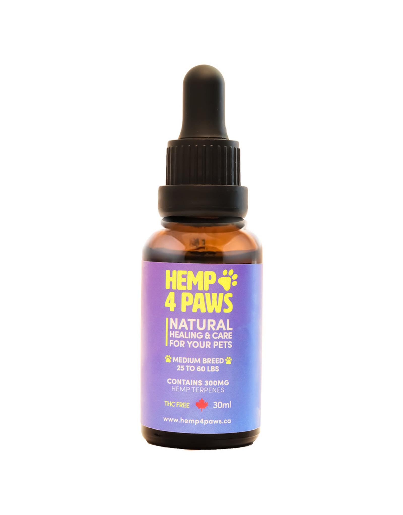 Hemp 4 Paws Hemp 4 Paws Medium Breed 300MG/30ML