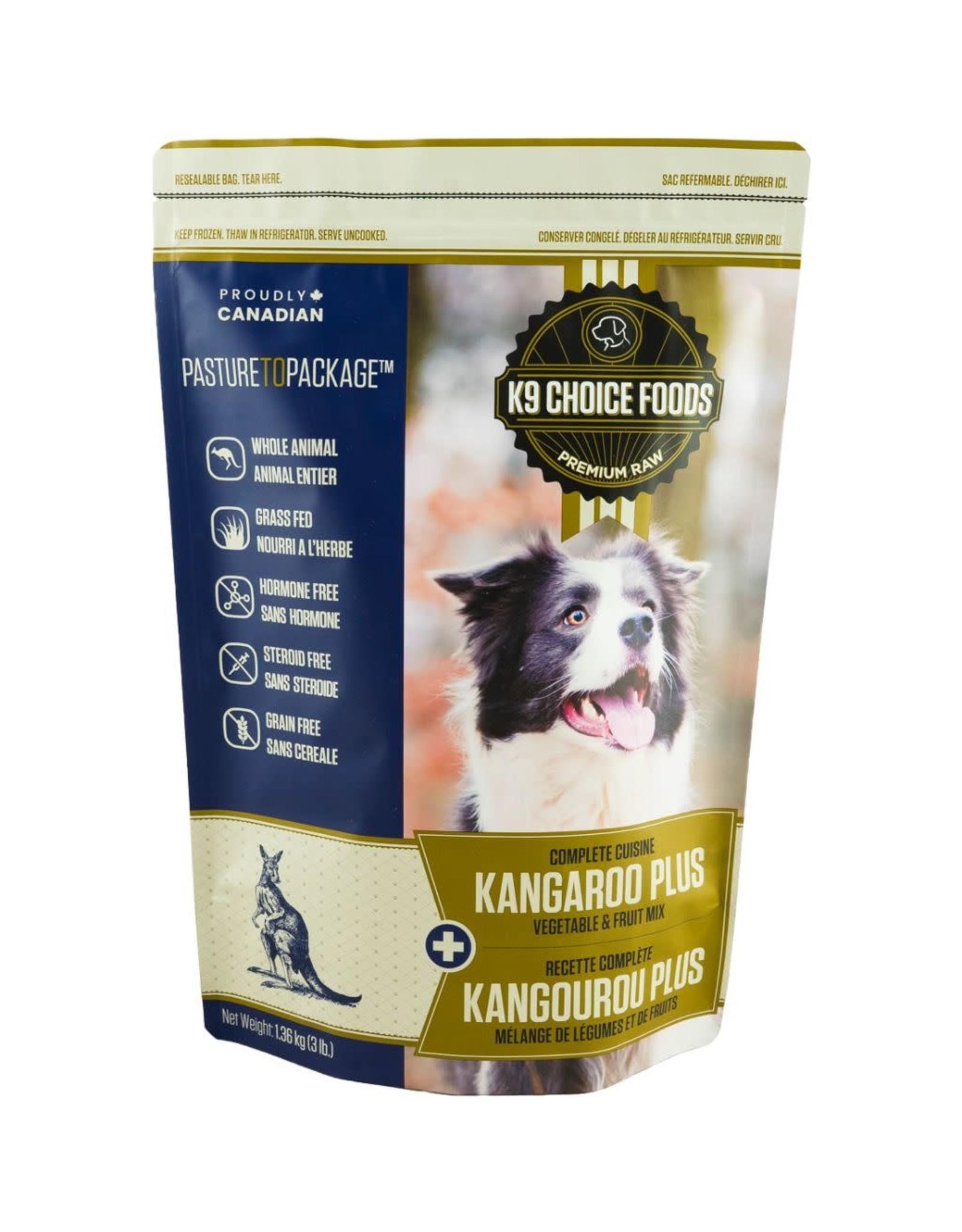 K9 Choice K9 Choice Frozen - Complete Cuisine Kangaroo Plus