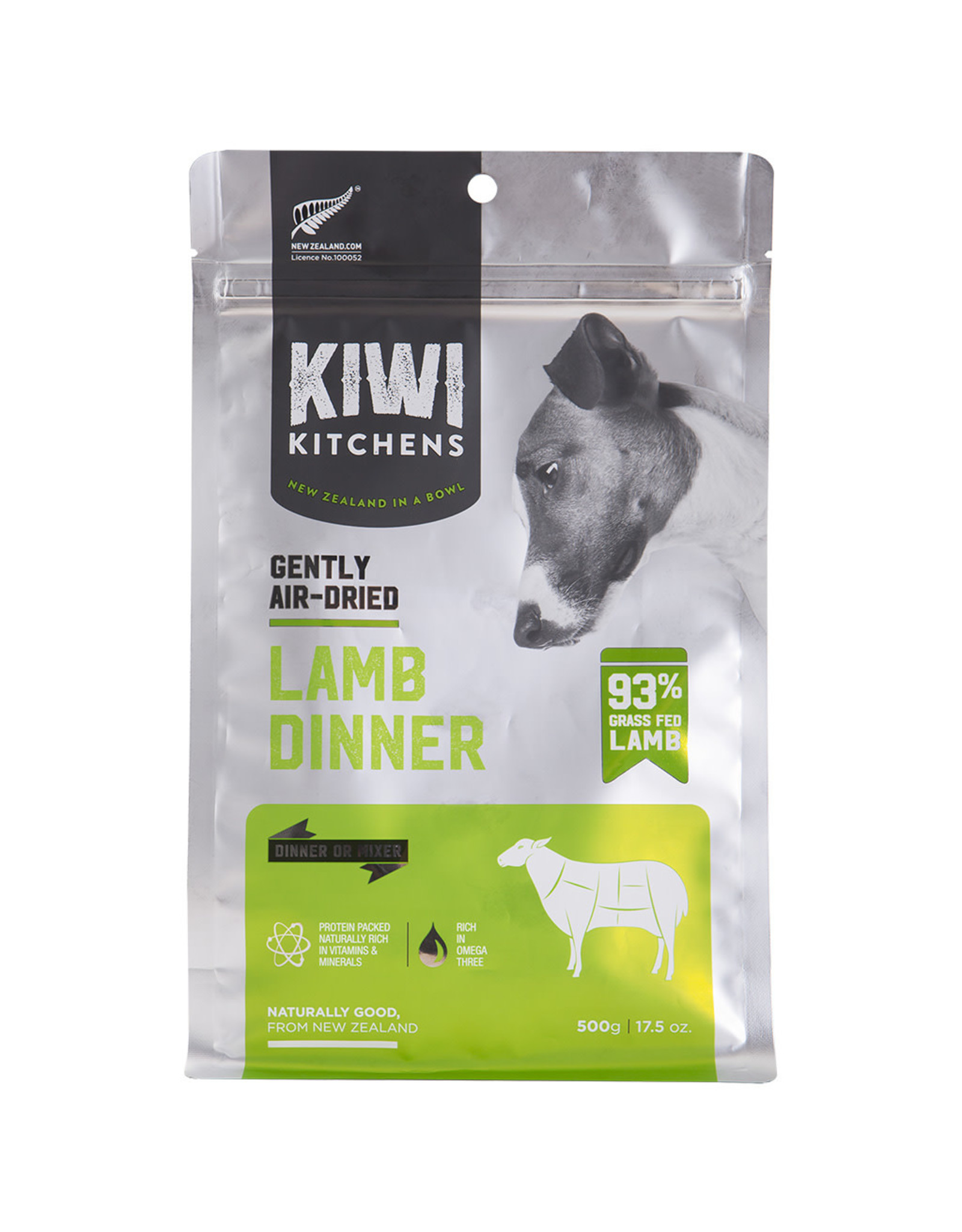 Kiwi Kitchens Kiwi Kitchens Gently Air-Dried Lamb Dinner [DOG]