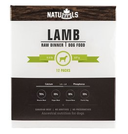 Naturawls Naturawls Frozen - Lamb & Veggie Dinner [DOG]