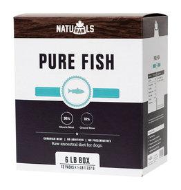 Naturawls Naturawls Frozen - Raw Pure Salmon & Trout [DOG] 12 x 227 GM