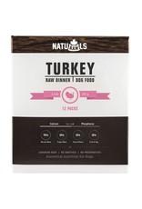 Naturawls Naturawls Frozen - Turkey & Veggie Dinner [DOG]