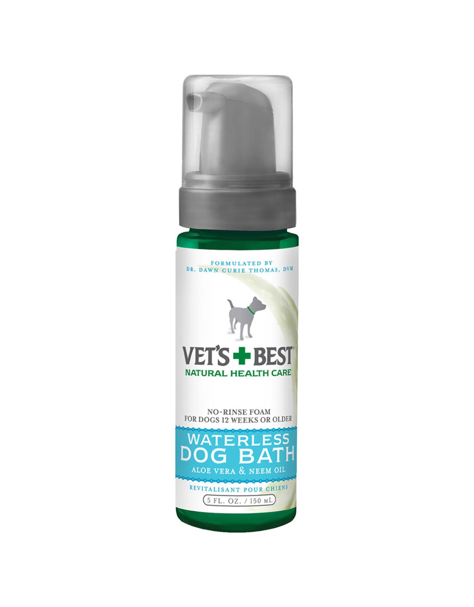 Vets Best Quick Clean Waterless Dog Bath 5 OZ