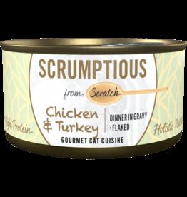 Scrumptious Scrumptious Chicken & Turkey [CAT] 2.8OZ