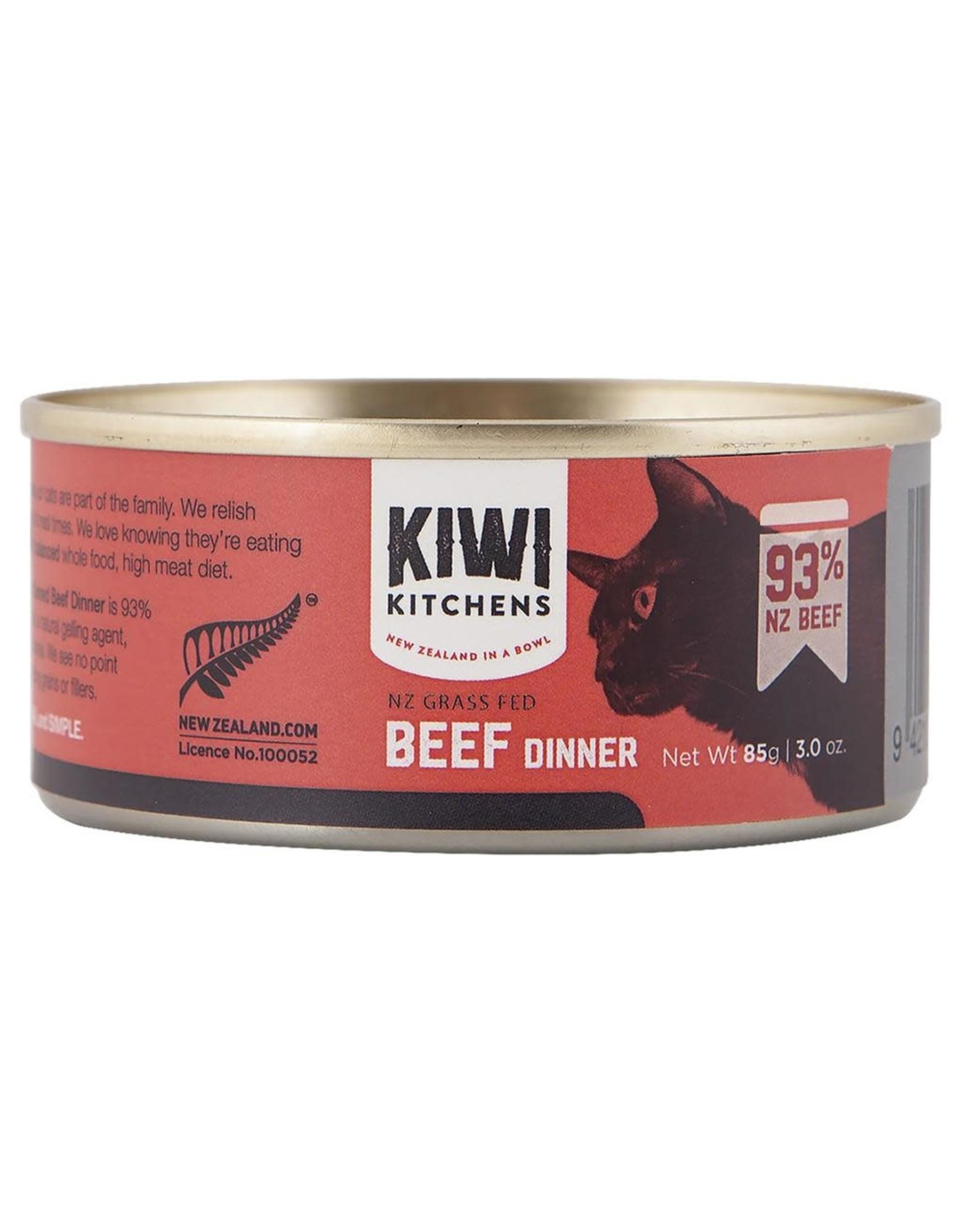 Kiwi Kitchens Kiwi Kitchens Grass Fed Beef [CAT] 85GM