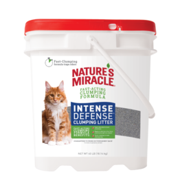Nature's Miracle Nature's Miracle Intense Defense Clumping Litter 40LB
