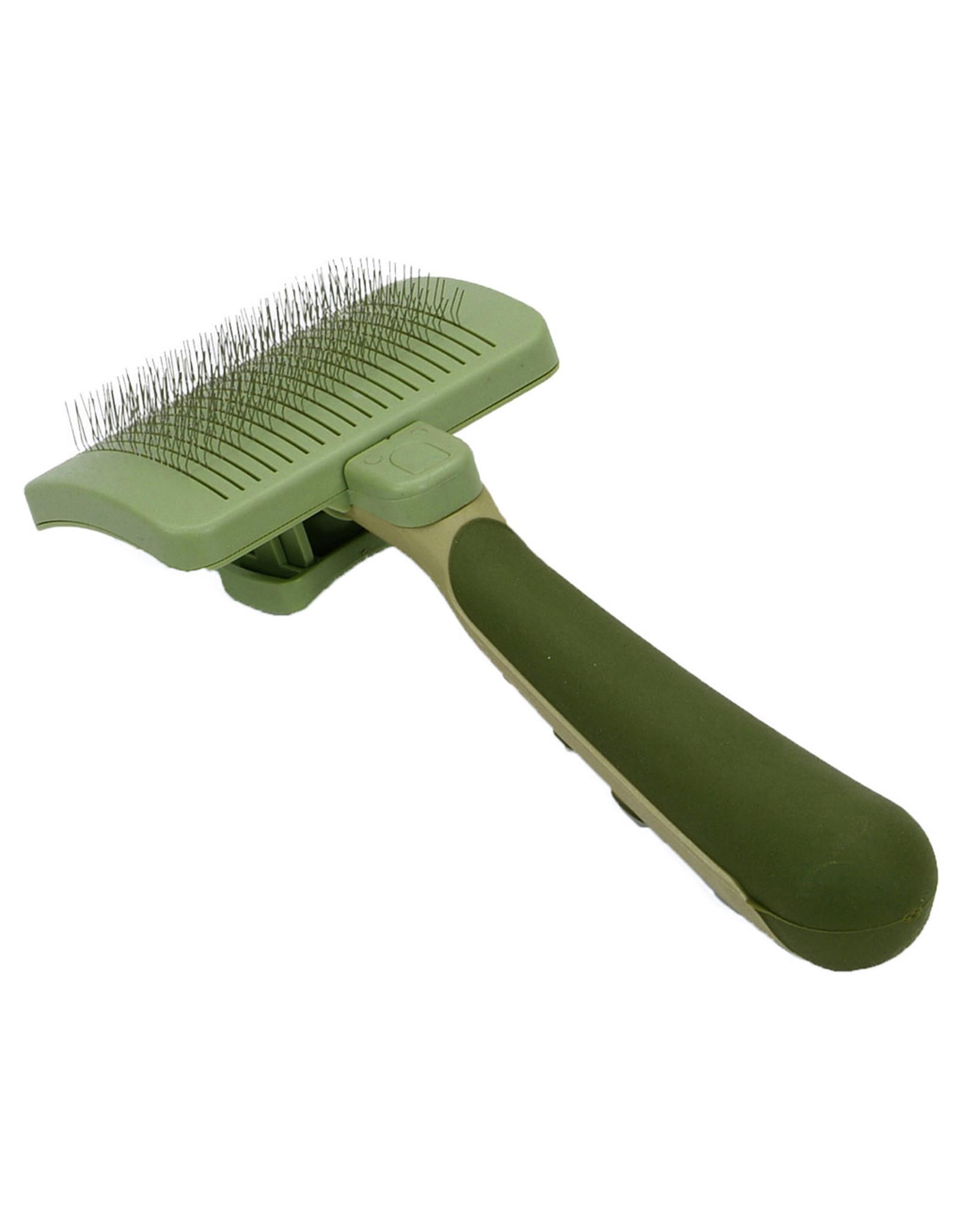 Coastal Pet Products Safari Self Cleaning Slicker Brush [CAT]