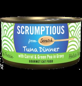 Scrumptious Scrumptious Red Meat Tuna w/ Carrots & Peas [CAT] 2.8OZ
