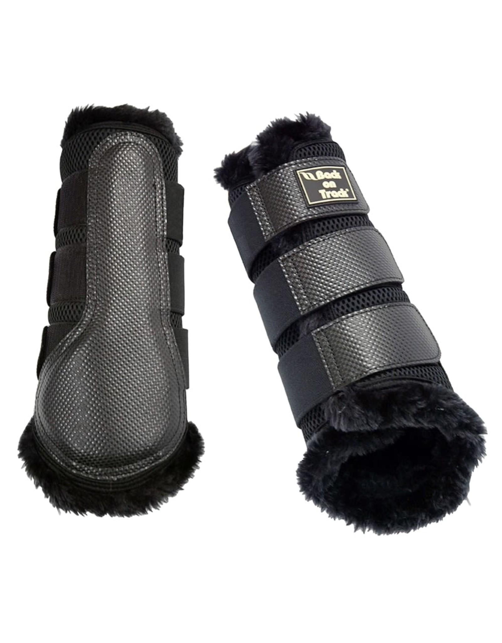 Back On Track Back On Track 3D Mesh Fur Brushing Boots