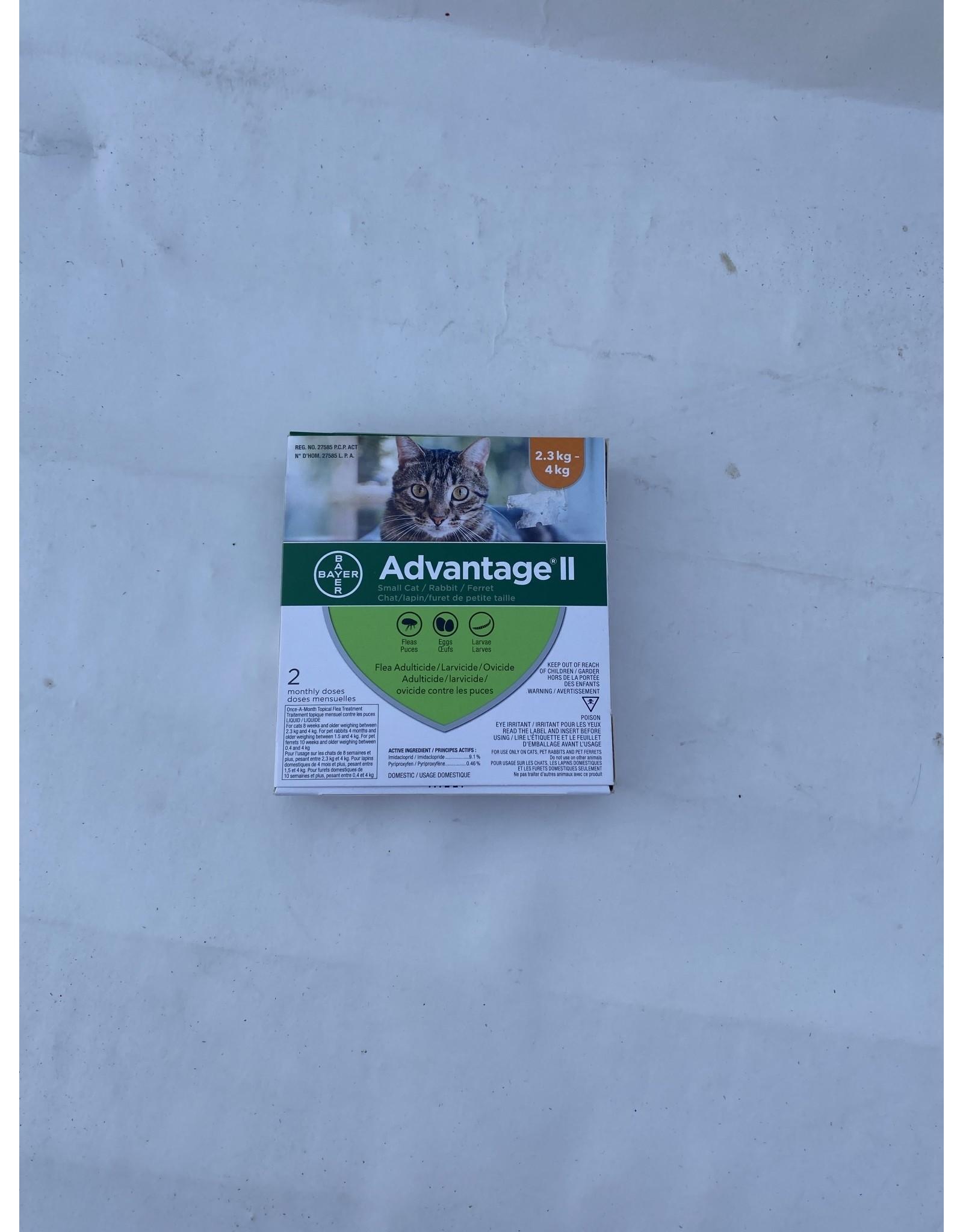 Advantage Advantage II - 2 Dose [CAT]