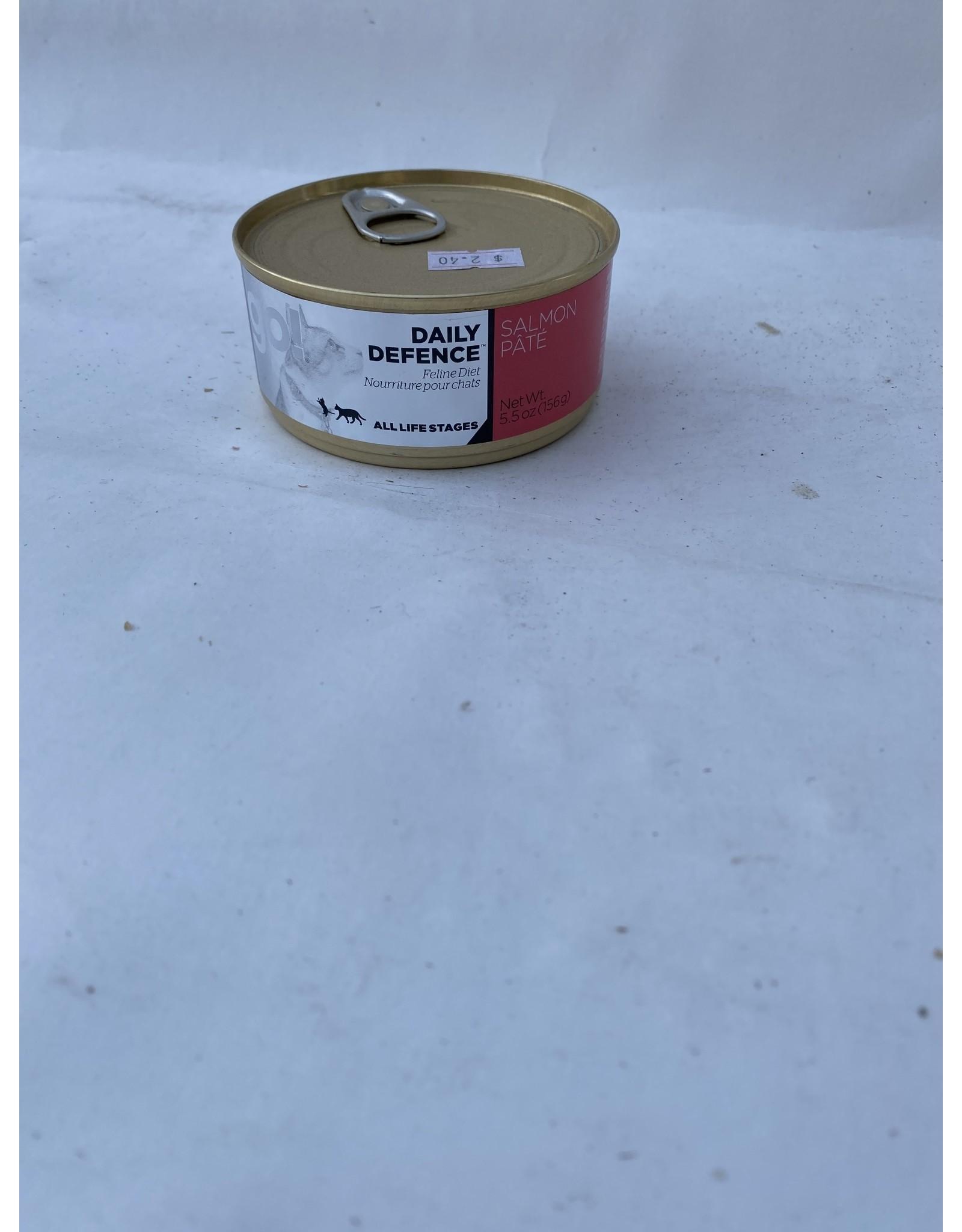 Petcurean GO! Daily Defence Salmon Pate [CAT] 5.5OZ