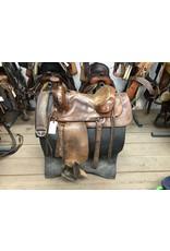 "16"" Western Saddle w/ Front Cinch"