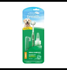 Fresh Breath by TropiClean TropiClean Fresh Breath Oral Care Brushing Kit [DOG] 2OZ