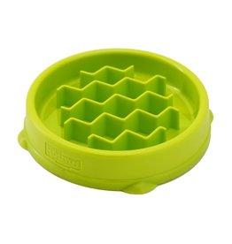 Petstages Kitty Slow Feeder Green