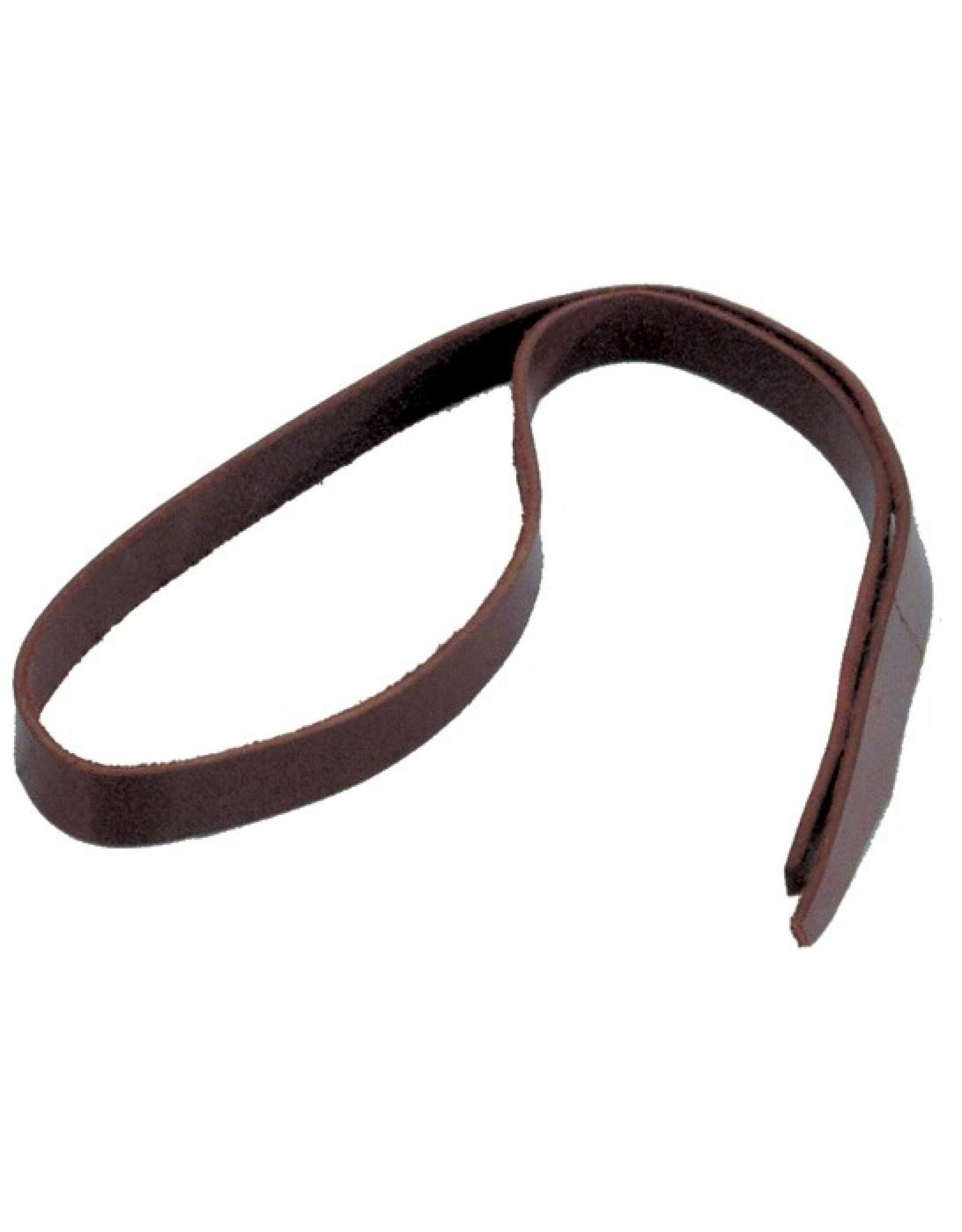 "Western Rawhide Saddle String 72"" Black"