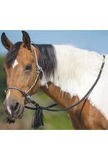 Mustang Mustang Deluxe Bitless Bridle Silver/Black/White
