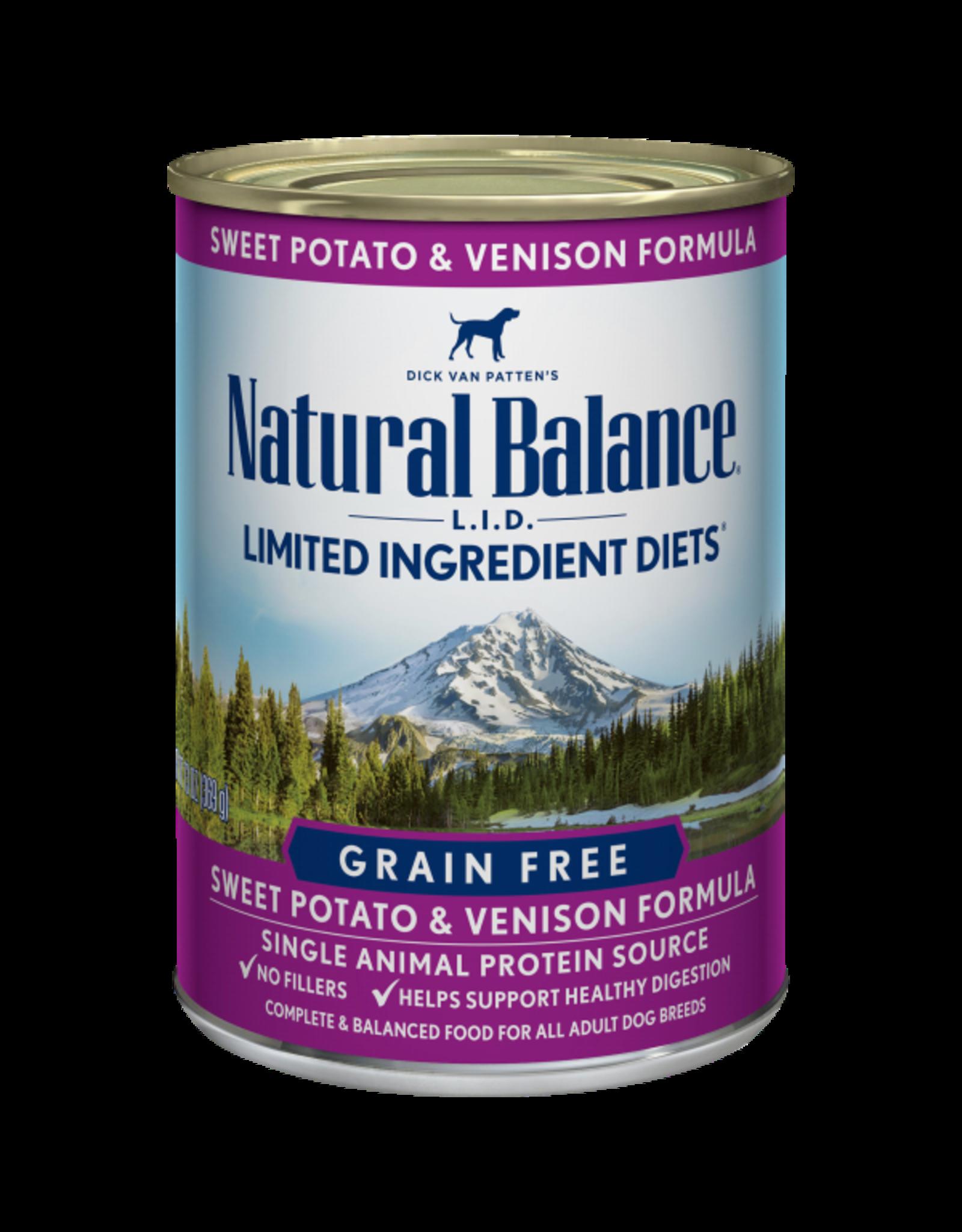 Natural Balance Natural Balance LID Sweet Potato & Venison [DOG] 13OZ
