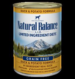 Natural Balance Natural Balance LID Duck & Potato [DOG] 13OZ