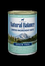 Natural Balance Natural Balance LID Chicken & Sweet Potato [DOG] 13OZ
