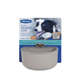 Petmate Kennel Cup With Funnel Gray Large