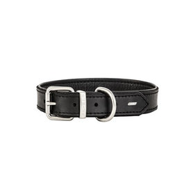 EzyDog Oxford Leather Collar Black Large