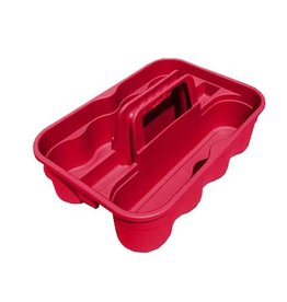 Tuff Stuff Tuff Stuff Round Carry Caddy Red