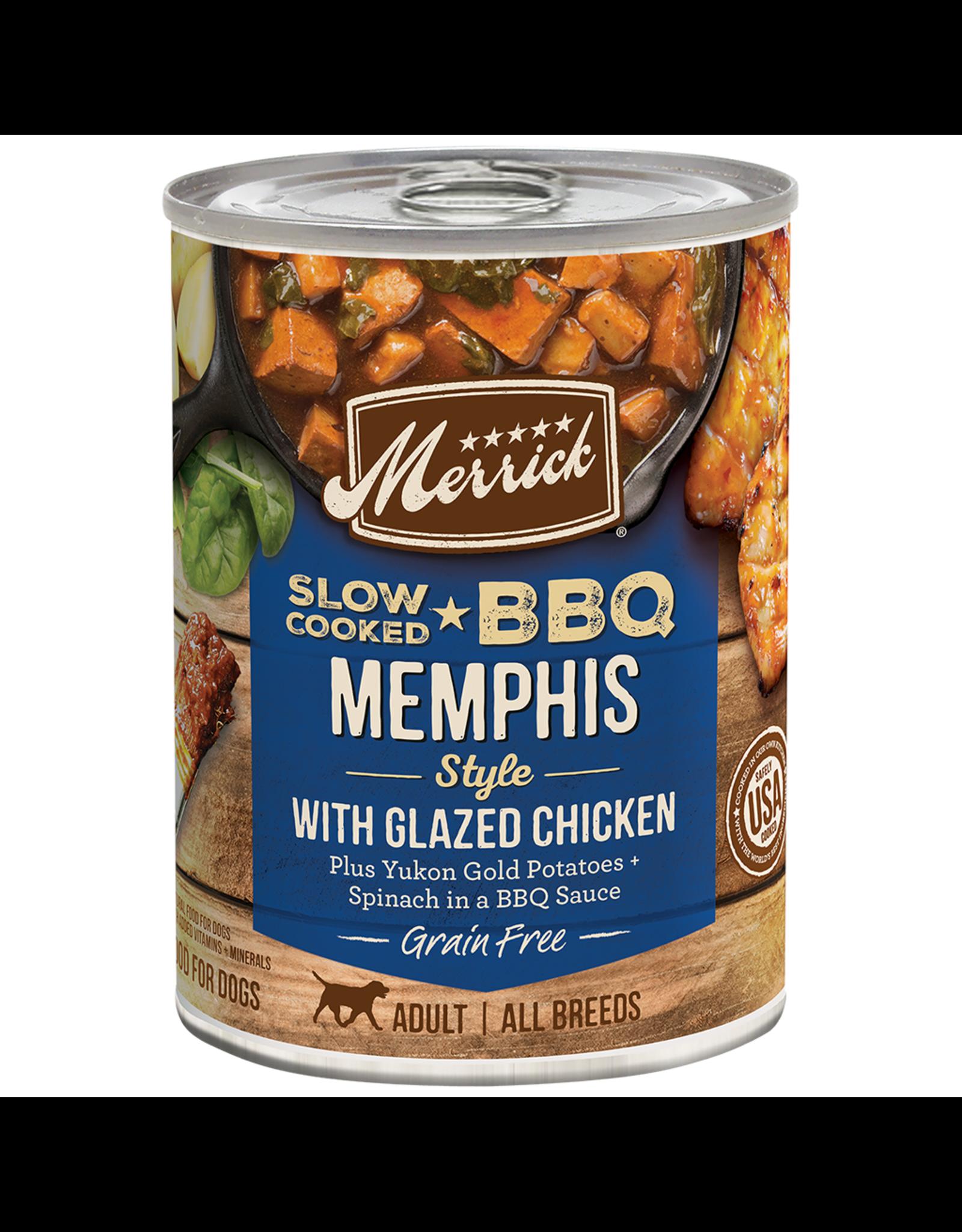 Merrick Merrick BBQ Memphis Style Chicken [DOG] 12.7OZ