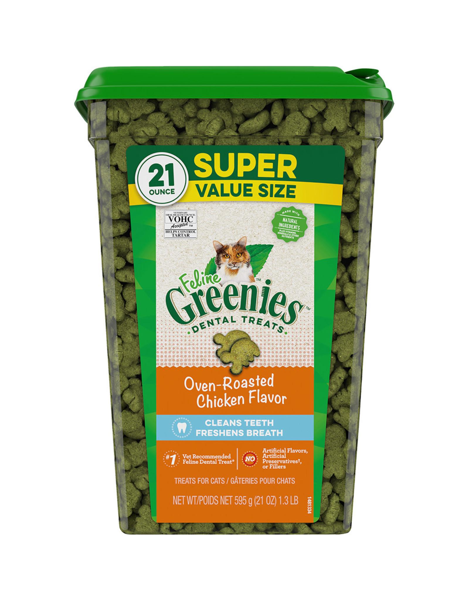Greenies Greenies Oven Roasted Chicken Dental Treats 21OZ