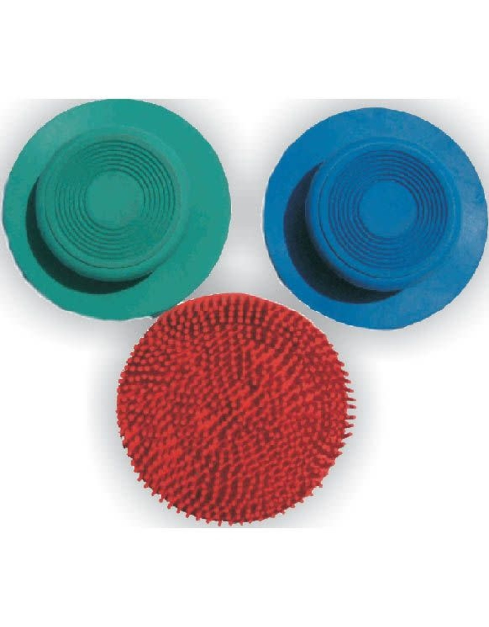 Ger-Ryan Round Rubber Curry Comb