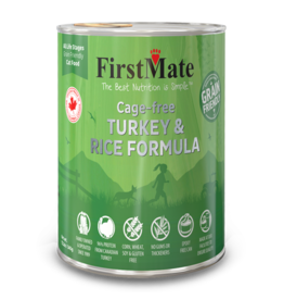 FirstMate Firstmate Cage Free Turkey & Rice [CAT] 12.2OZ