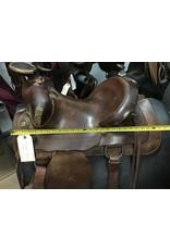 """15"""" Eamor Western Saddle"""