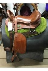 """17"""" C&K Endurance Saddle w/ Saddle Pad"""