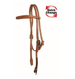 Western Rawhide Quick Change Browband Headstall
