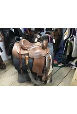 """16"""" Western Saddle w/ Front & Rear Cinch"""