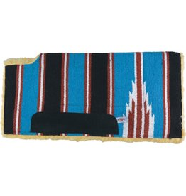 Country Legend Navajo Felt Lined Wool Pad w/ Wither Cutout