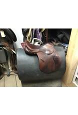 """17"""" County English Saddle"""