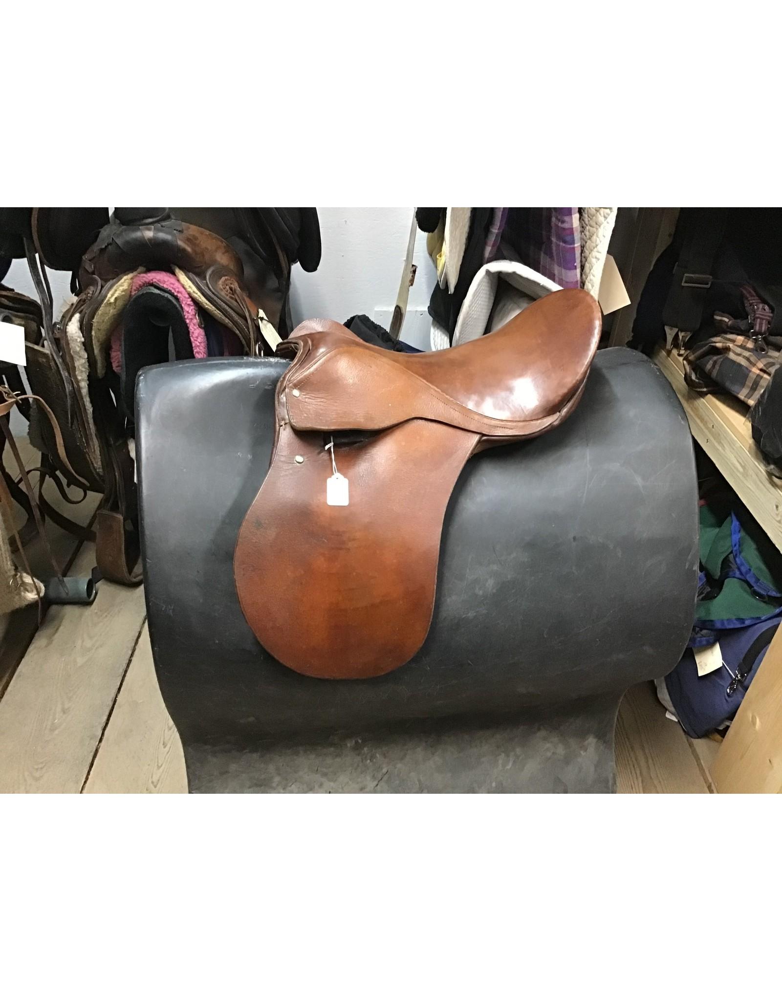 """17"""" English Saddle"""