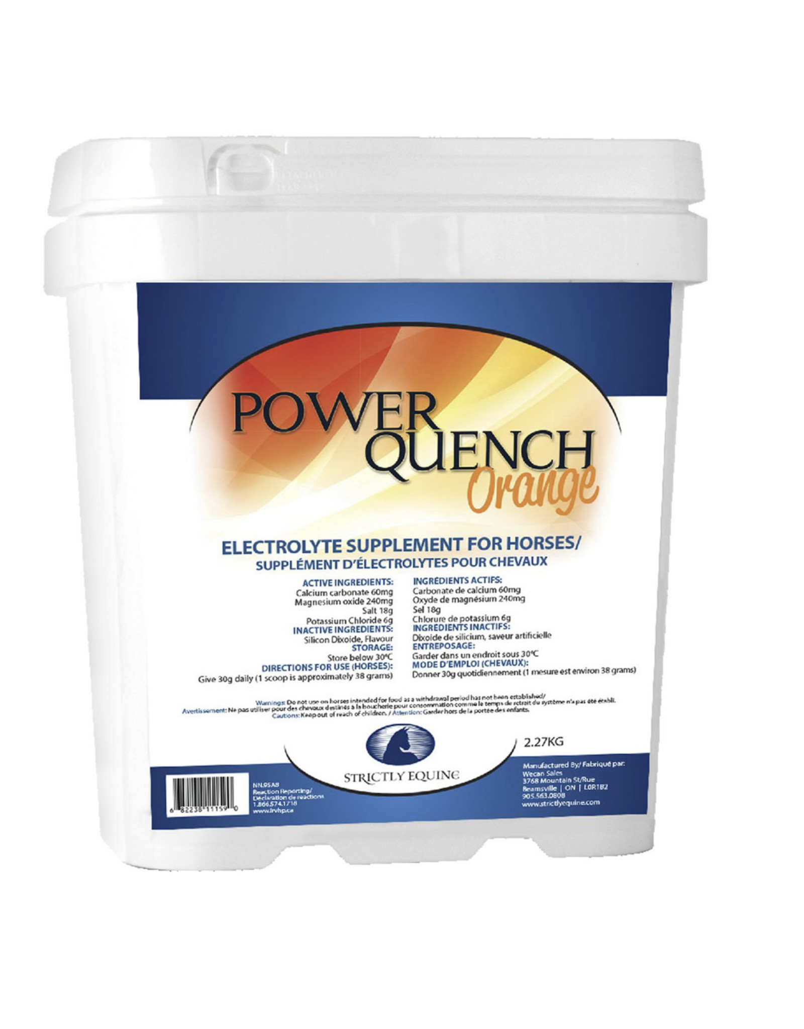 Simply Equine Power Quench Electrolyte Supplement Orange
