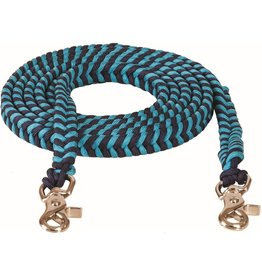 """Mustang Braided Contest Rein 3/4"""" x 8'"""