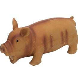 "Coastal Pet Products Rascals Latex Grunting Pig 7.5"" Brown"