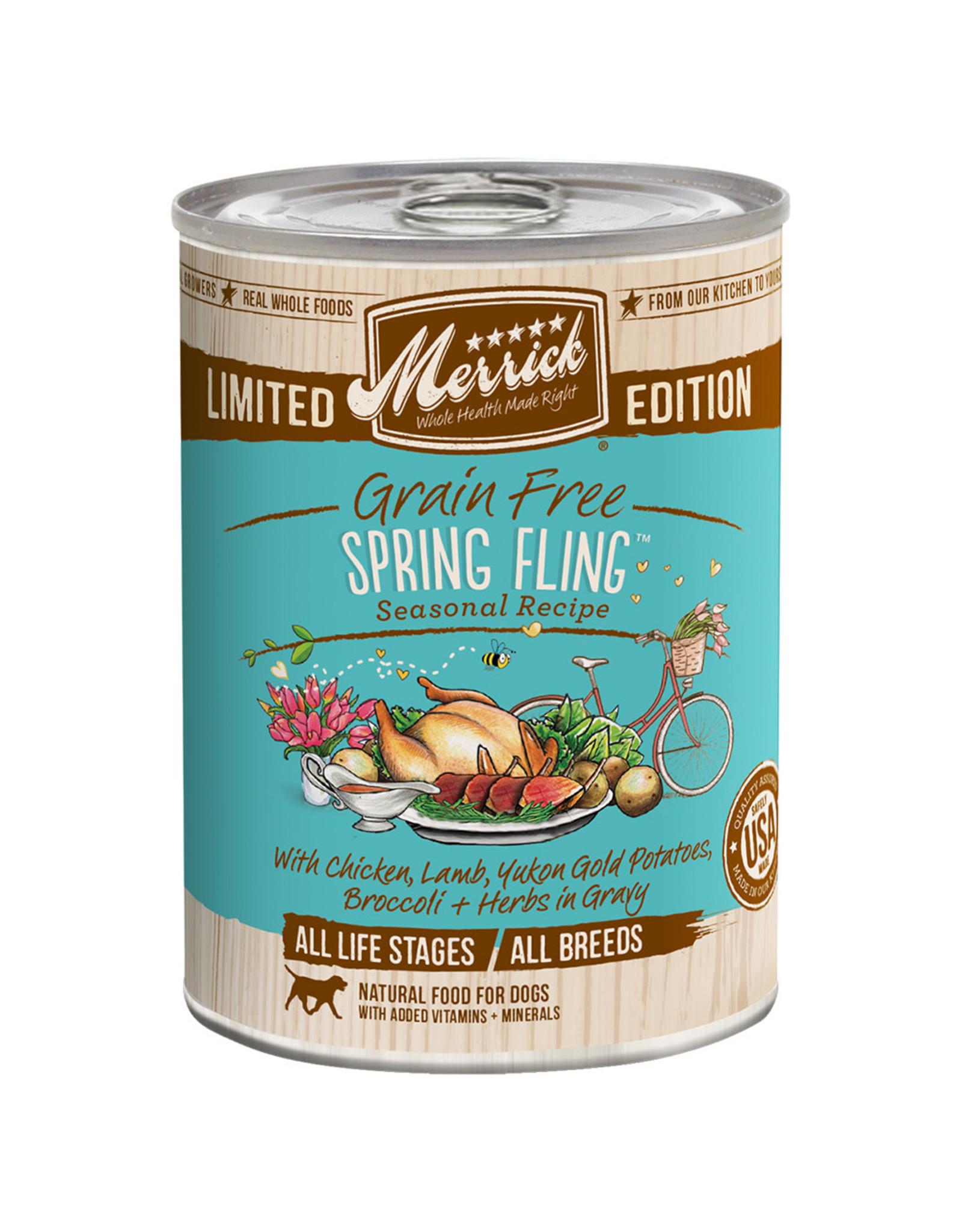 Merrick Merrick GF Spring Fling [DOG] 12.7OZ