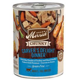 Merrick Merrick Chunky Carvers Delight Dinner [DOG] 12.7OZ