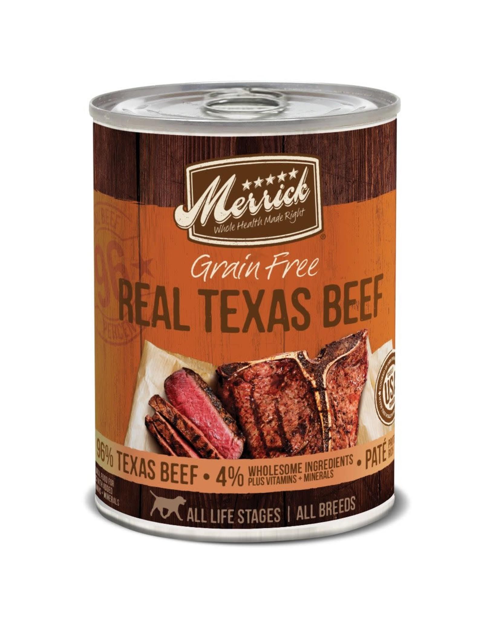 Merrick Merrick GF Real Texas Beef [DOG] 12.7OZ