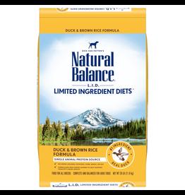 Natural Balance Natural Balance LID Duck & Brown Rice [DOG] 26LB