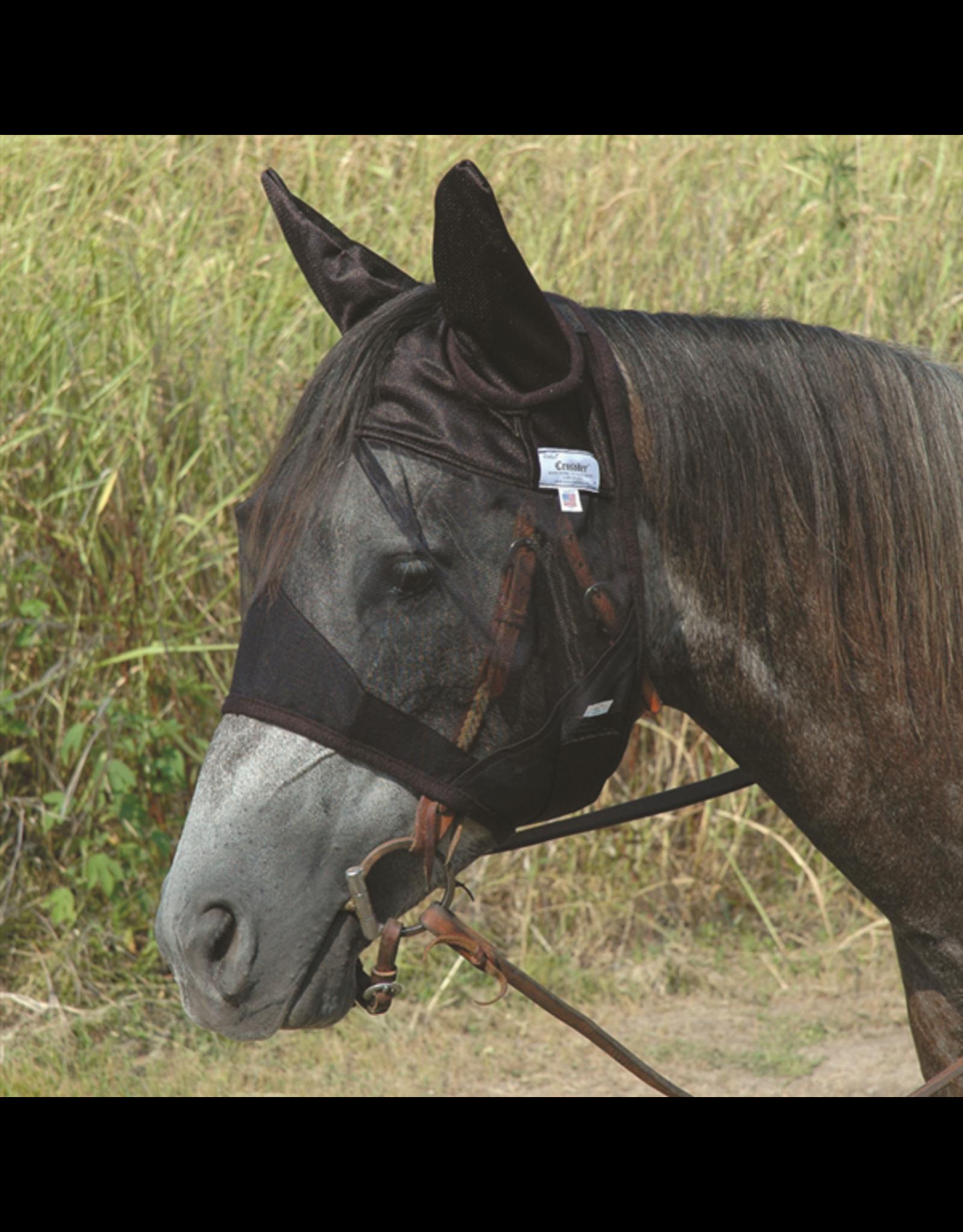 Cashel Cashel Quiet Ride Fly Mask Standard w/Ears Horse