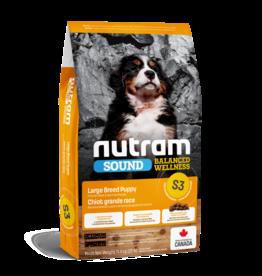 Nutram Nutram 3.0 Sound Dog S3 Large Breed Puppy [DOG] 11.4KG