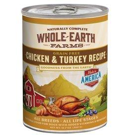 Whole Earth Farms Whole Earth Farms Chicken & Turkey Recipe [DOG] 12.7OZ