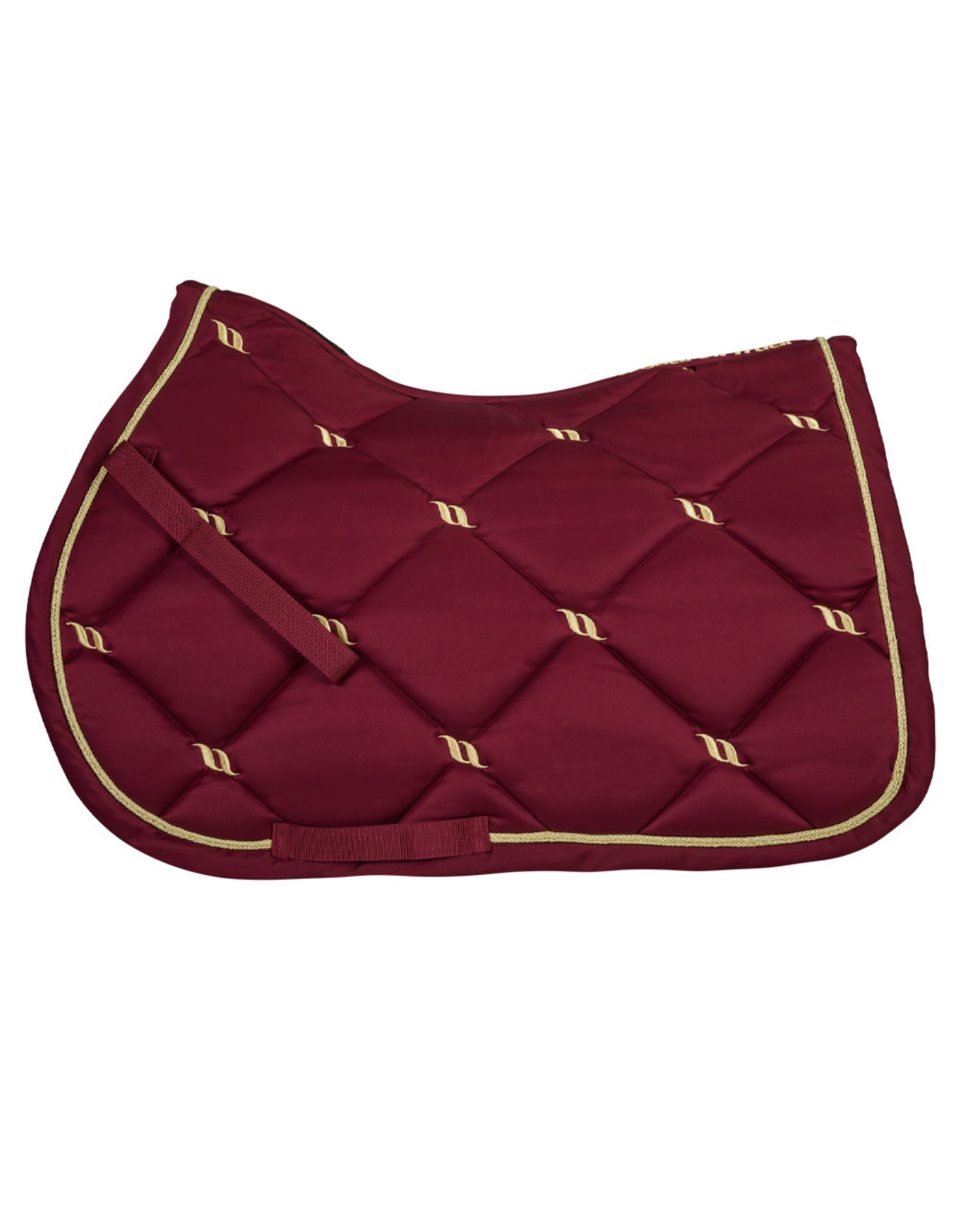 Back On Track Back On Track Nights Collection Jump Saddle Pad Red