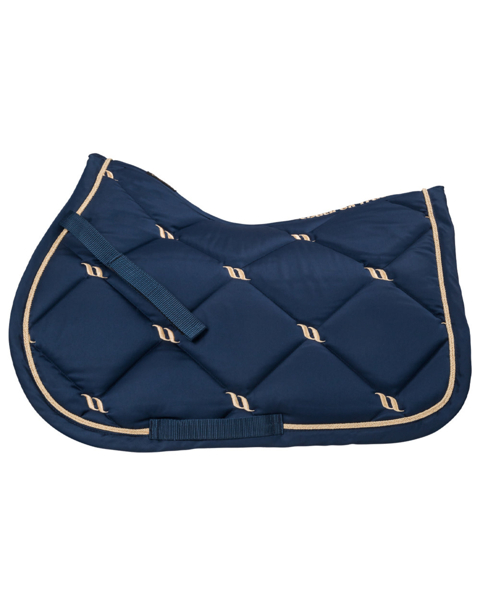 Back On Track Back On Track Nights Collection Jump Saddle Pad Noble Blue