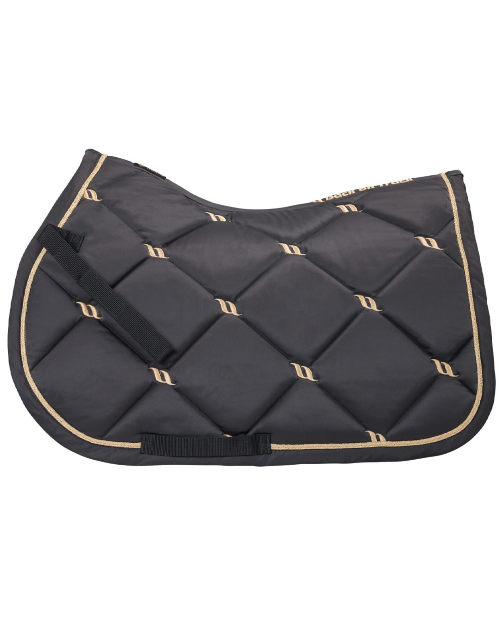 Back On Track Back On Track Nights Collection Jump Saddle Pad Graphite